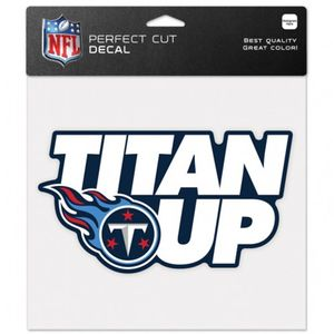 Tennessee Titans Titan Up Perfect Cut Decal