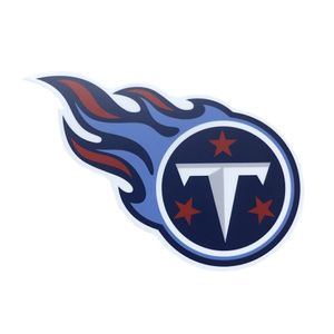 Tennessee Titans Metal Hitch Cover