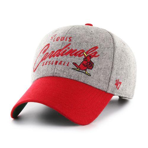 '47 Brand St. Louis Cardinals Fenmore Adjustable Hat (Grey/Red)