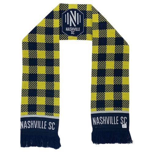 Nashville Soccer Club Flannel Design Scarf (Navy/Gold)