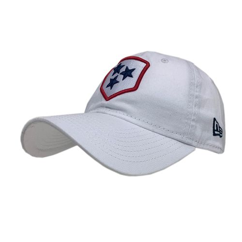 New Era Nashville Sounds Alternate Logo Adjustable Hat (White)