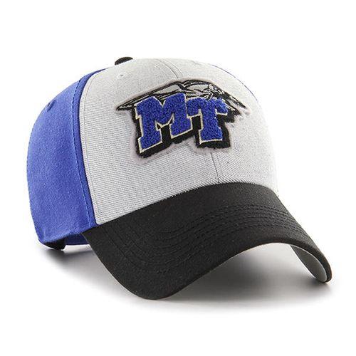 '47 Brand MTSU Blue Raiders Tuft Adjustable Hat (Royal/White)