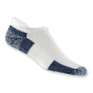 Thorlo J-13 Running Roll Top Sock (White)
