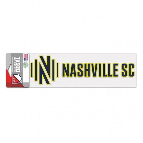 Nashville Soccer Club Perfect Cut Decal (Navy/Yellow)