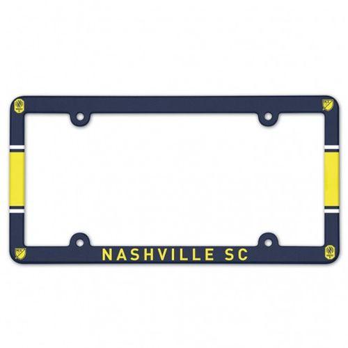 Nashville Soccer Club Plastic License Plate Frame
