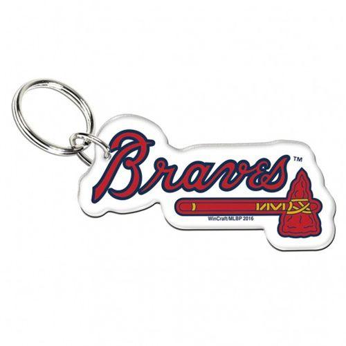 Atlanta Braves Acrylic Keyring