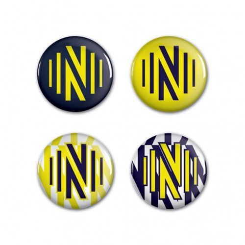 Nashville Soccer Club Button Set