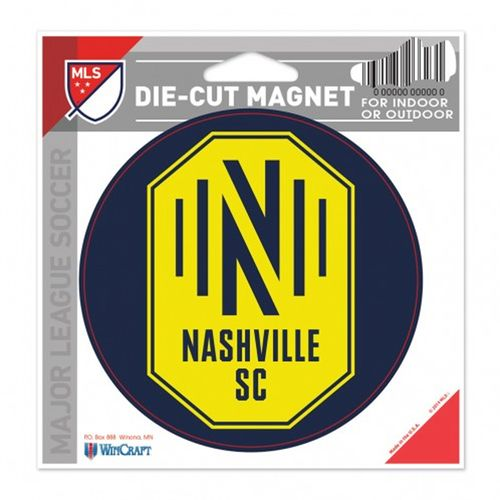 Nashville Soccer Club Die-Cut Magnet