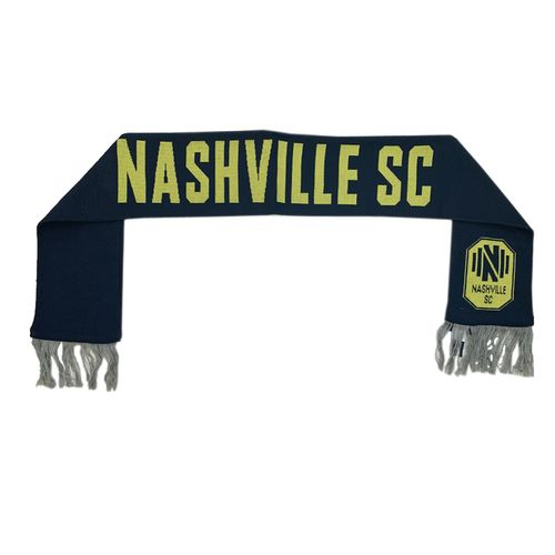 Fanatics Nashville Soccer Club Core Scarf (Navy/Gold)