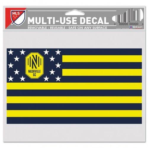 Nashville Soccer Club Americana Multi-Use Decal