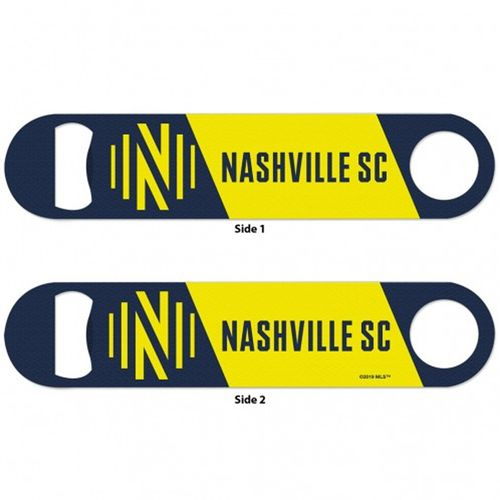 Nashville Soccer Club Metal Two-Sided Bottle Opener