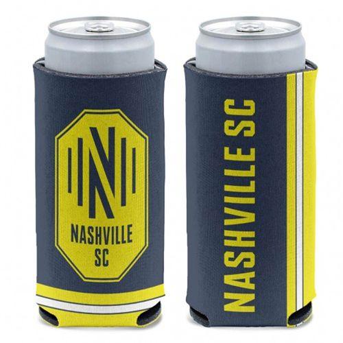 Nashville Soccer Club Logo Slim Can Cooler