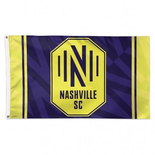 Nashville Soccer Club Logo Deluxe Flag
