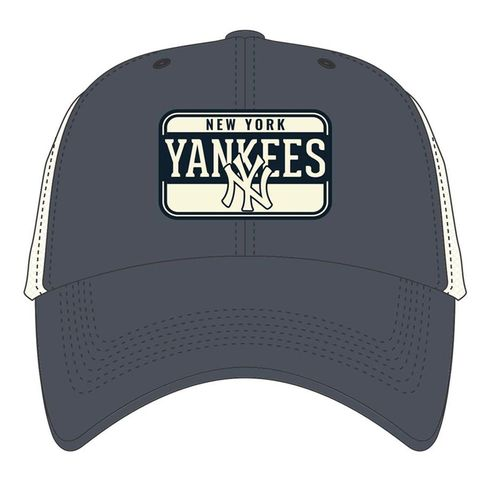 '47 Brand New York Yankees Fluid Two-Toned Clean Up Adjustable Hat (Vintage Navy)