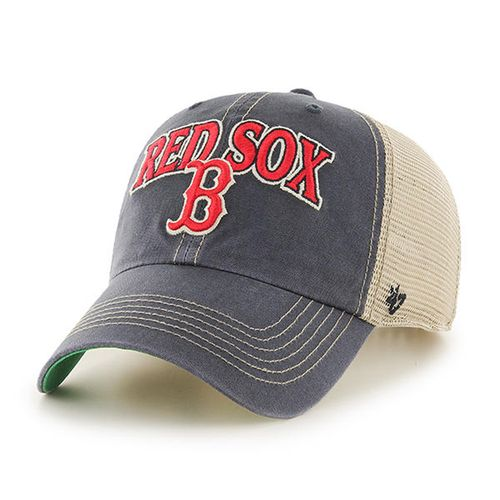 '47 Brand Boston Red Sox Tuscaloosa Clean Up Adjustable Hat (Vintage Navy)