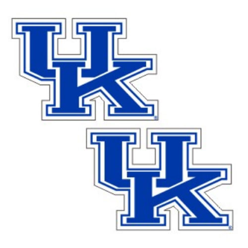 Kentucky Wildcats 2 Pack of decals