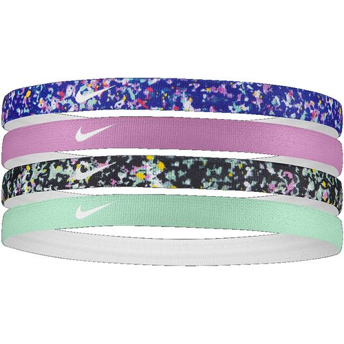 Nike Girl's 4-Pack Headbands (Black)