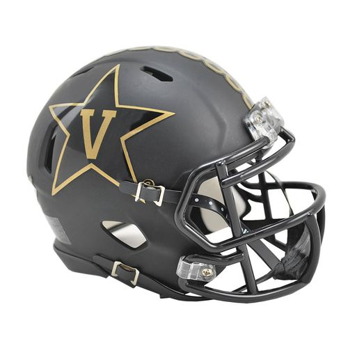 Vanderbilt Commodores 2015 Mini Speed Helmet (Matte Black)