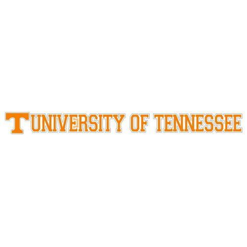 Tennessee Volunteers University of Tennessee Decal (Orange)