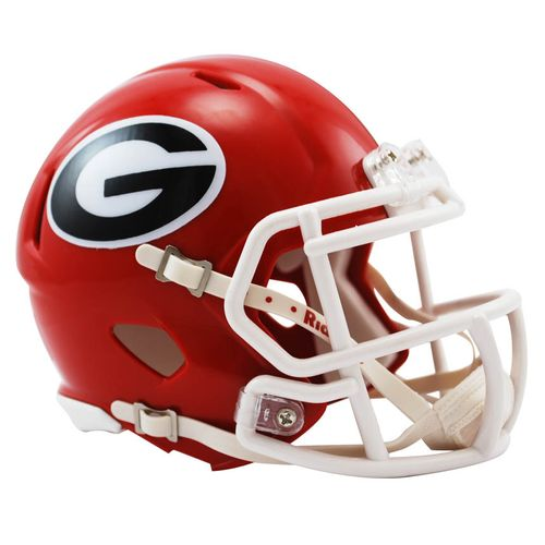 Georgia Bulldogs Mini Speed Helmet (Red)