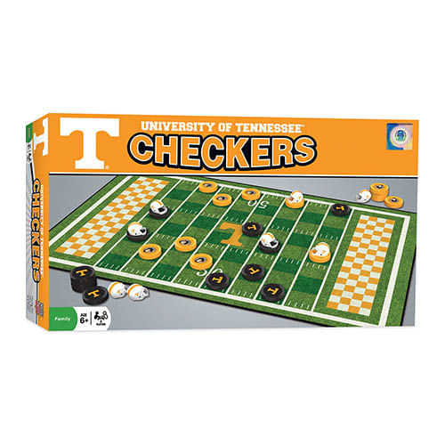 Tennessee Volunteers Checkers Game