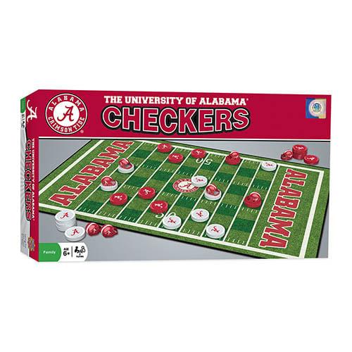 Alabama Crimson Tide Checkers Game