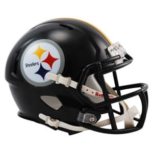 Pittsburgh Steelers Mini Speed Helmet (Black)