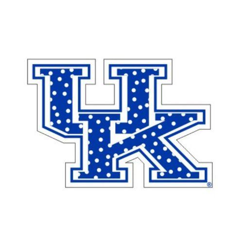 Kentucky Wildcats Polka Dot UK Decal