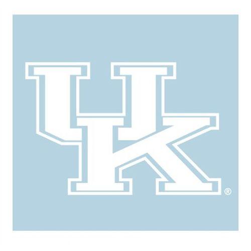 "Kentucky Wildcats ""UK"" Decal (White)"