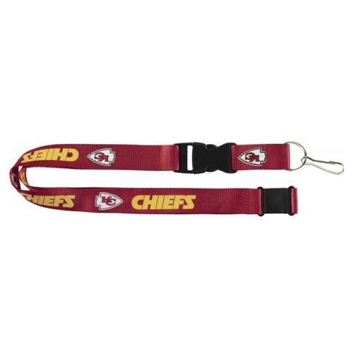 Kanas City Chiefs Logo Lanyard (Red)