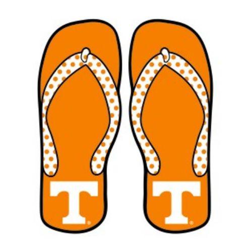 Tennessee Volunteers Flip Flop Decal (Orange)