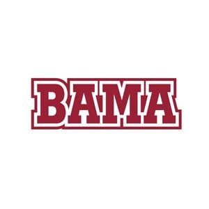 "Alabama Crimson Tide ""Bama"" Magnet"
