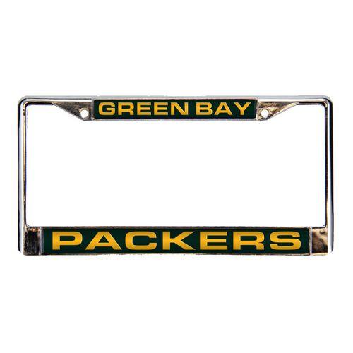Green Bay Packers Laser Chrome Frame