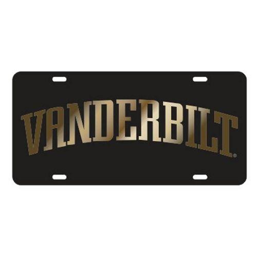 Vanderbilt Commodores Arch Laser Cut License Plate