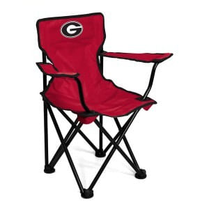 Georgia Bulldogs Toddler Folding Logo Chair