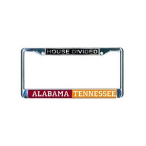 House Divided License Frame - Custom Order with YOUR teams
