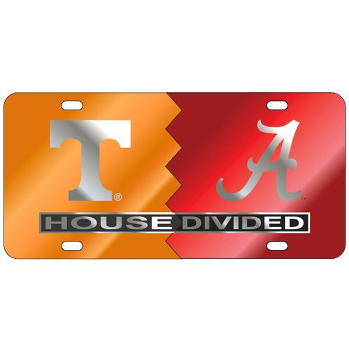 House Divided License Plate - Custom Order with YOUR teams