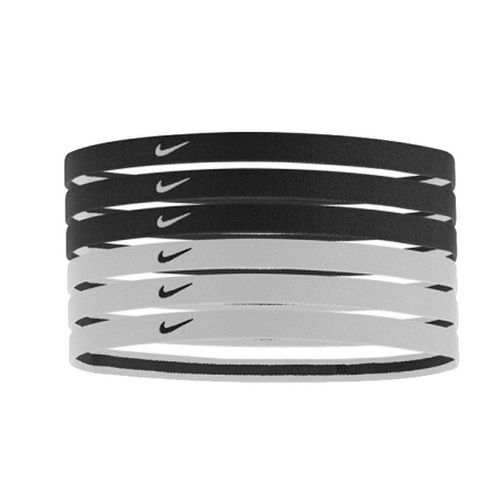 Nike 6 pack Headbands (Black/White)