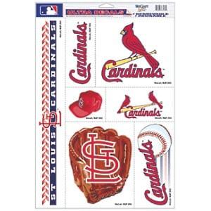 St. Louis Cardinals Ultra Decal Sheet