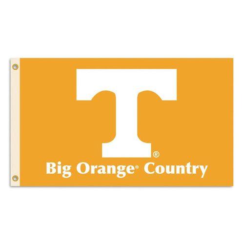 Tennessee Volunteers Big Orange Country 3X5 Flag (Orange)