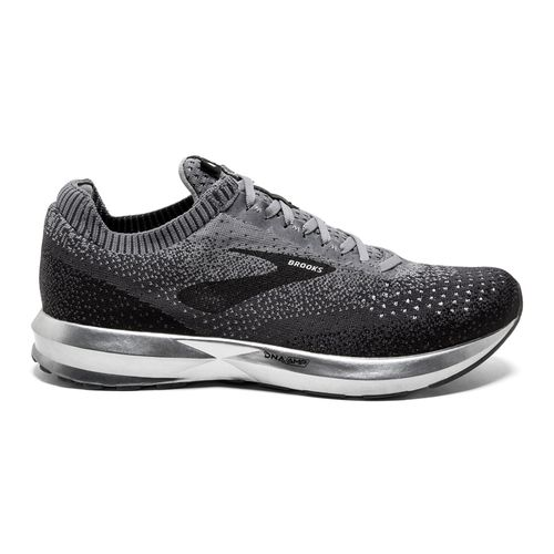 Men's Brooks Levitate 2 (Black/Grey)