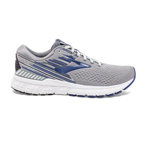 Men's Brooks Adrenaline GTS 19 Double Wide (Grey/Blue)