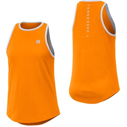 Women's Nike Tennessee Volunteers Dri-FIT High Neck Tank Top (Orange)