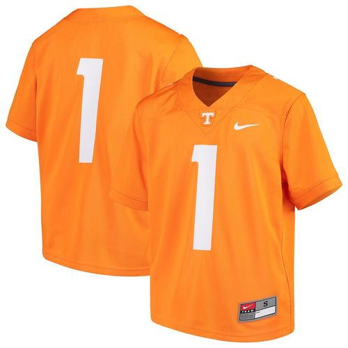 Toddler Nike Tennessee Volunteers #1 Football Replica Jersey (Orange)