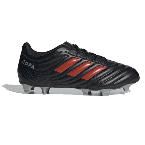 Men's Adidas Copa 19.4 FG Soccer Cleat (Black/Red)