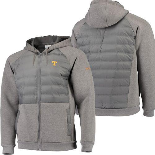 Men's Columbia Tennessee Volunteers Northern Comfort Jacket (Charcoal)