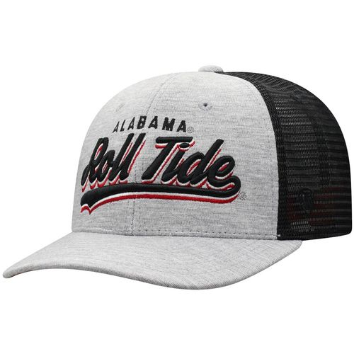 Youth Alabama Crimson Tide Cutter Adjustable Snapback Hat (Heather/Black)