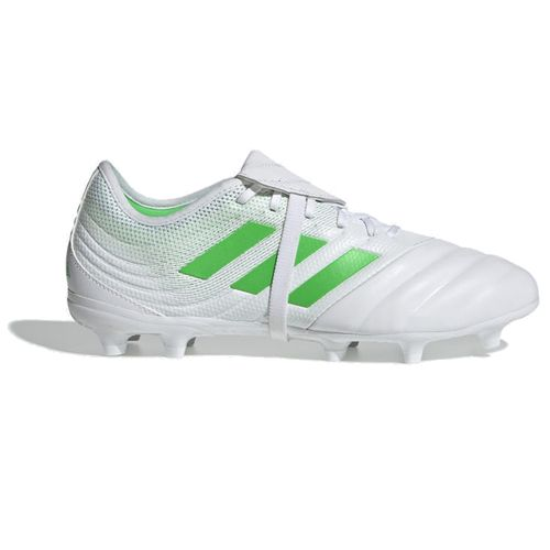 Men's Adidas Copa Gloro 19.2 FM Cleat (White/Lime)