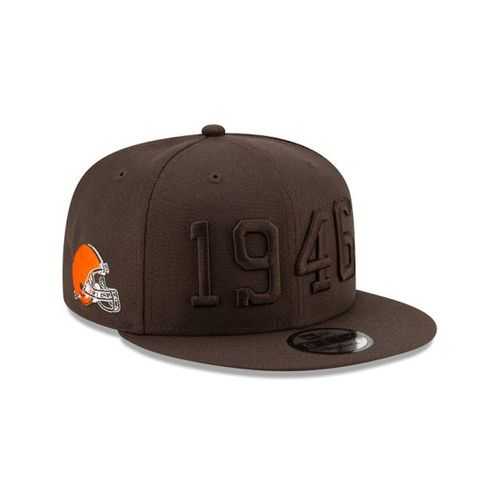 New Era Cleveland Browns On Field 2019 950 Adjustable Hat (Brown)