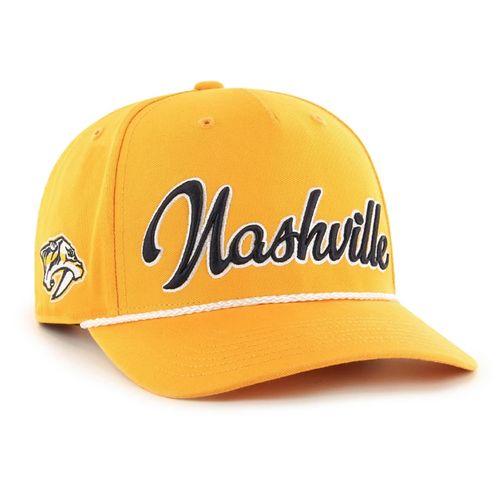 '47 Brand Nashville Predators Overhand Scrip MVP Adjustable Hat (Gold)